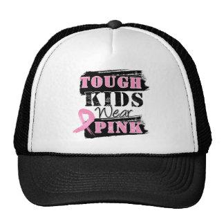 Tough Kids Wear Pink - Breast Cancer Awareness Hats