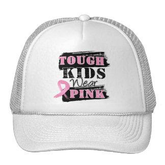 Tough Kids Wear Pink - Breast Cancer Awareness Hat