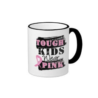 Tough Kids Wear Pink - Breast Cancer Awareness Mugs