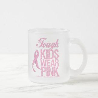 Tough Kids Wear Pink Cool Breast Cancer Coffee Mugs