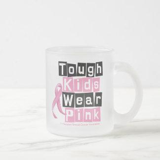 Tough Kids Wear Pink For Breast Cancer Awareness Mugs