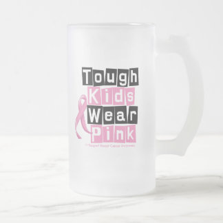 Tough Kids Wear Pink For Breast Cancer Awareness Coffee Mugs