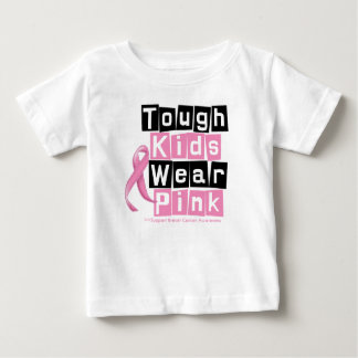 Tough Kids Wear Pink For Breast Cancer Awareness T Shirts