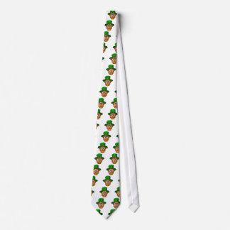 Tough Leprechaun Macot Tie