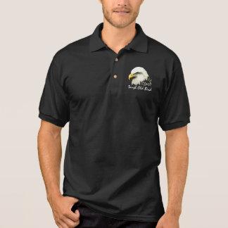 Tough Old Bird Fun  Bald Eagle, Bird, Business Polo Shirt