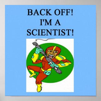 tough scientist poster
