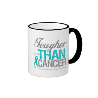 Tougher Than Cancer - Ovarian Cancer Ringer Mug