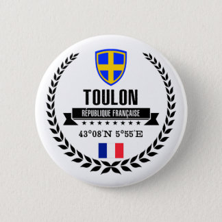 Toulon 6 Cm Round Badge