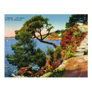 Toulon, Cap Brun, 1924 Postcard