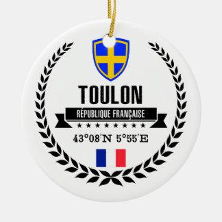 Toulon Ceramic Ornament