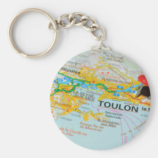 Toulon, France Key Ring