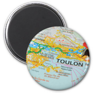 Toulon, France Magnet