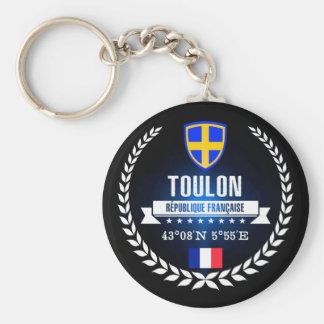 Toulon Key Ring