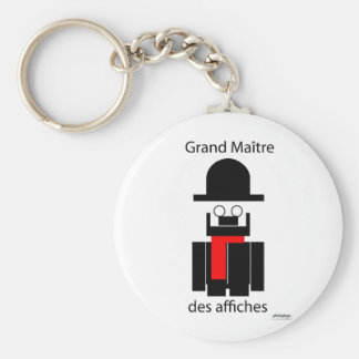 Toulouse - Art Gallery Selection Basic Round Button Key Ring