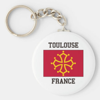 Toulouse, France Key Ring