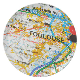 Toulouse, France Plate