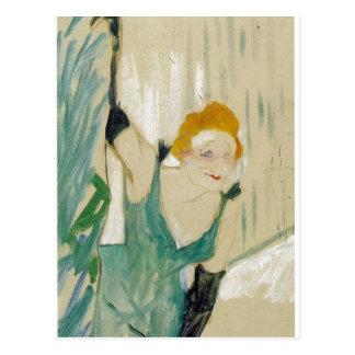 Toulouse-Lautrec, Henri de Yvette Guilbert salut a Postcard