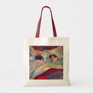 """Toulouse-Lautrec  - """"In Bed"""" Overnight Bag"""