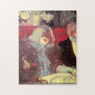 Toulouse-Lautrec -In the particular cabinet puzzle