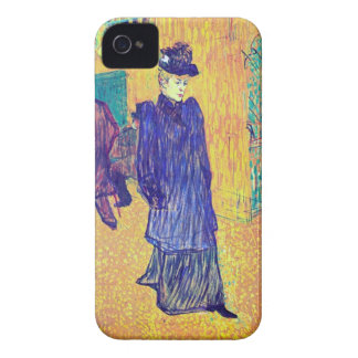 Toulouse-Lautrec - Jane Avril leaves the Ro iPhone 4 Case