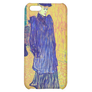 Toulouse-Lautrec - Jane Avril leaves the Ro iPhone 5C Cover