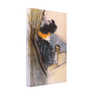 Toulouse-Lautrec - Spring idyll Canvas Print