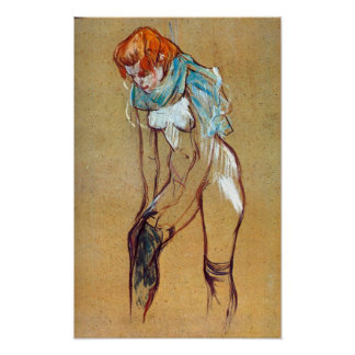 Toulouse-Lautrec - Stockings Poster