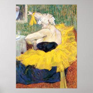 Toulouse-Lautrec - The Clowness Cha U Kao Poster