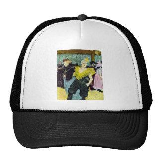 Toulouse Lautrec The Clowness vintage picture, Hats