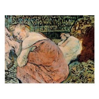 Toulouse-Lautrec: Two Friends Postcard