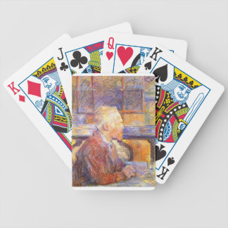 Toulouse-Lautrec - Van Gogh Bicycle Playing Cards