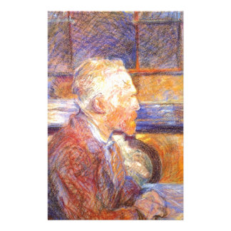 Toulouse-Lautrec - Van Gogh Custom Stationery