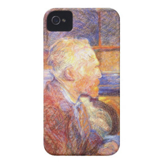 Toulouse-Lautrec - Van Gogh iPhone 4 Case