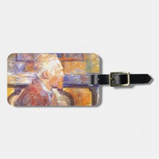 Toulouse-Lautrec - Van Gogh Luggage Tag