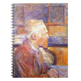 Toulouse-Lautrec - Van Gogh Spiral Notebook