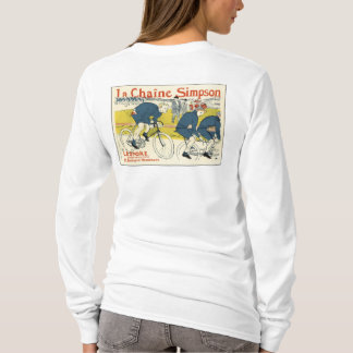 Toulouse-Lautrec - Vintage Bicycle Art T-Shirt