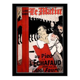 """Toulouse-Lautrec's """"Le Matin"""" Postcard"""