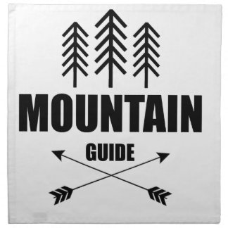 Tour and Adventure, Mountain Guide Napkin