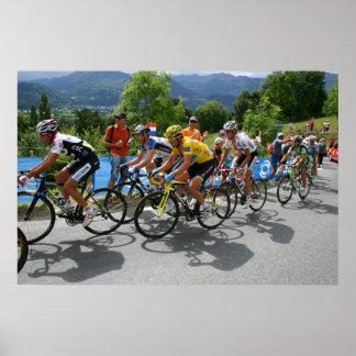 Tour de France Hautacam 2008 Poster
