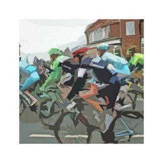 Tour De France in Yorkshire Canvas Print