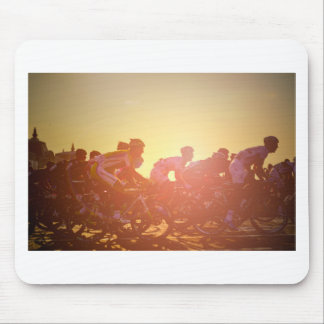 Tour De France Sunset Mouse Pad