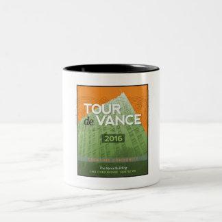 Tour de Vance 2016 Two-Tone Coffee Mug