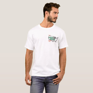 Tour Divide Elevation Profile t-shirt