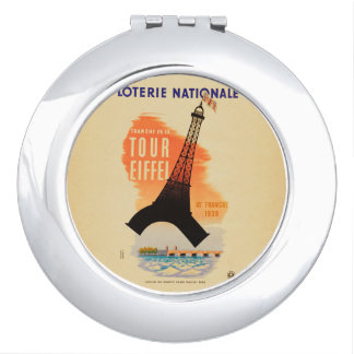 Tour Eiffel loterie nationale Mirror For Makeup