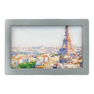 Tour Eiffel - Paris Belt Buckle