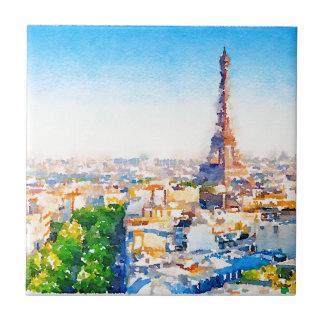 Tour Eiffel - Paris Ceramic Tile