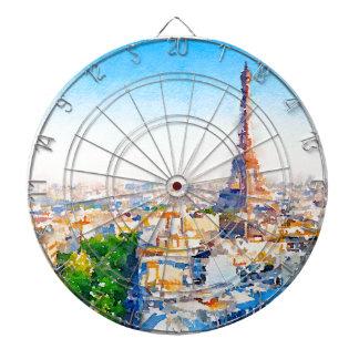 Tour Eiffel - Paris Dartboard