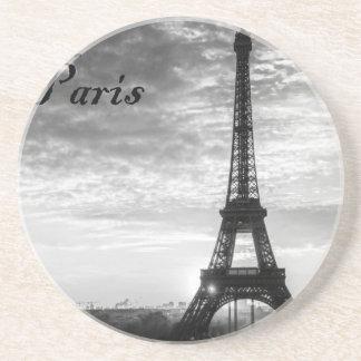 Tour Eiffel Paris - Sunset in Black & White (St.K) Coaster