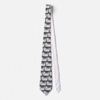 Tour Eiffel Paris - Sunset in Black & White (St.K) Tie