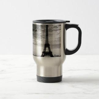 Tour Eiffel Paris - Sunset in Black & White (St.K) Travel Mug